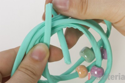 Jak rozmiescic przekladki na bransoletce