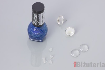 Jak zrobic kolczyki z lakierem do paznokci